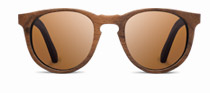 Belmont in Walnut with Brown Polarized Lenses