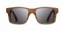 Haystack in Walnut with Grey Lenses
