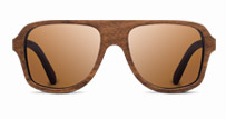 Ashland in Walnut with Brown Polarized Lenses